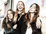 Haim – (left to right) Alana, Este and Danielle