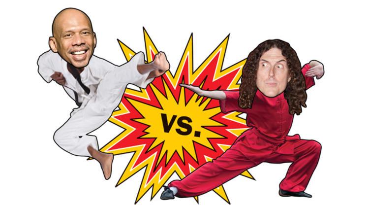 Kareem Abdul-Jabbar vs Weird Al Yankovic