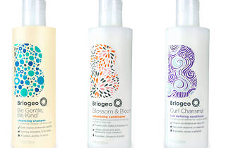 Briogeo hair care products.