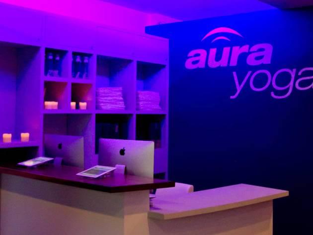 (Photograph: Courtesy Aura Yoga)