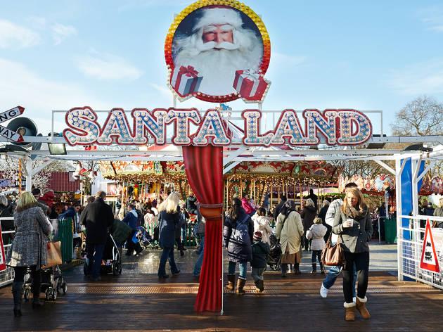 Hyde Park's Santa Land