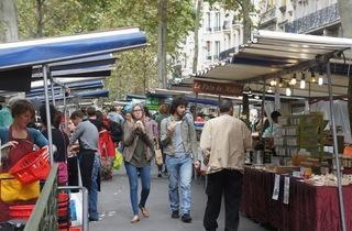 Marché biologique Raspail (© Barbara Chossis)