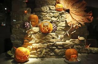 Fortnum & Mason Halloween Pumpkin Carving Competition, Press Image, 2013