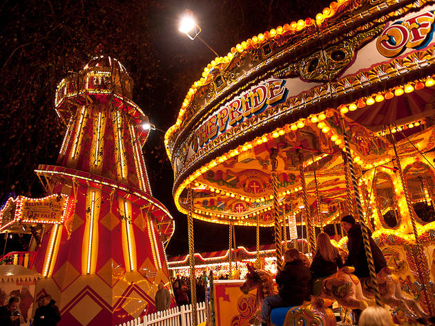 Christmas markets and fairs in London