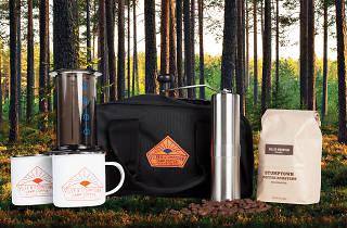 Poler & Stumptown camp coffee kit