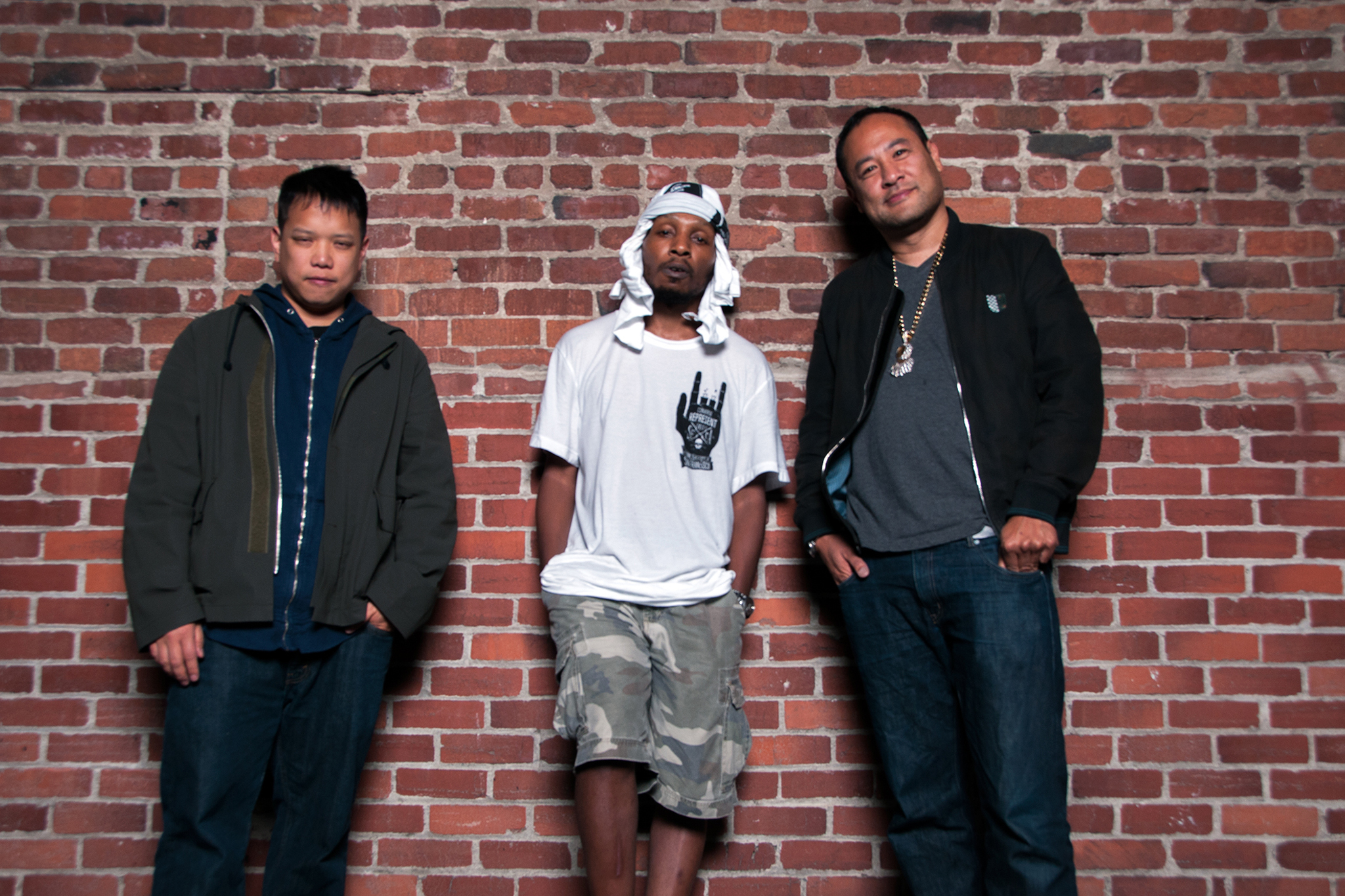 Deltron 3030 with Shepard Fairey; Aug 2