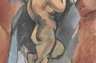 (Georges Braque, 'Grand Nu', hiver 1907- juin 1908 / © Centre Pompidou, MNAM-CCI, Dist.Rmn-Grand Palais / Philippe Migeat © Adagp, Paris 2013)