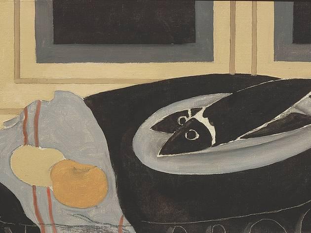 (Georges Braque, 'Les Poissons noirs', 1942 / © Centre Pompidou, MNAM-CCI, Dist.Rmn-Grand Palais / Droits réservés © Adagp, Paris 2013)