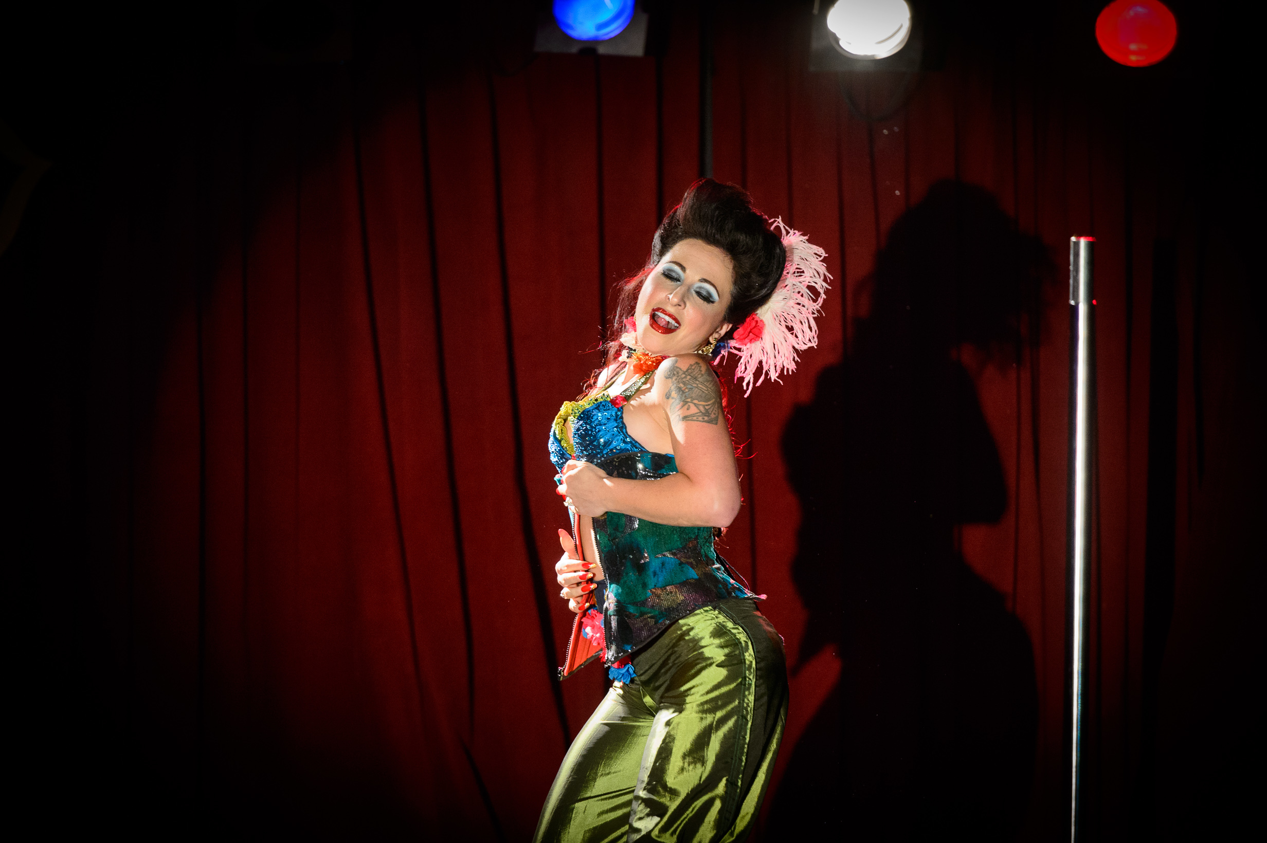 Angie Pontani (NYC) at the 11th Annual NY Burlesque Festival