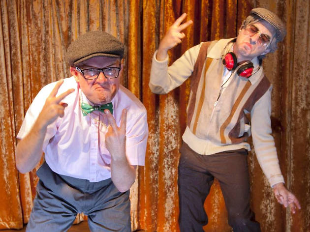 Coffin Dodgers Disco: Alex Woodhall and Carl Hill