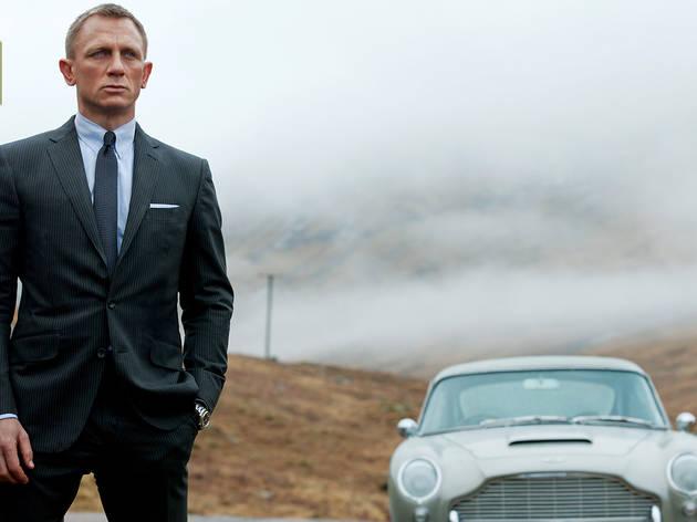 Three words: Bond, James Bond (Photograph: Francois Duhamel)
