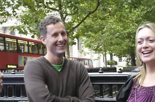 Flirting and Walking Tour of London