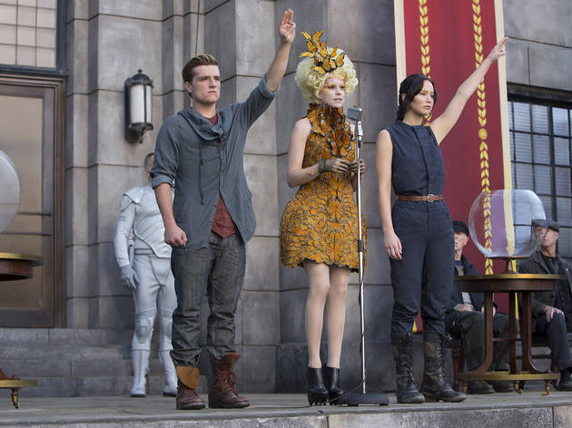The Hunger Games: Catching Fire: movie review