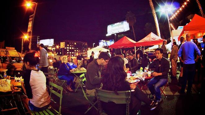 Best after-hours farmers market: Sunset Strip Market