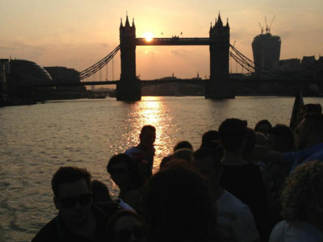 Boat parties in London