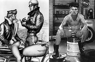 Bob Mizer and Tom of Finland