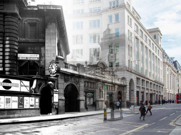 Tube stations: then and now