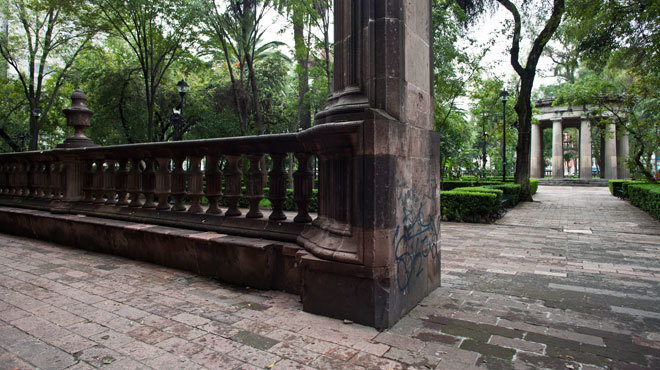Jardín Santiago Tlatelolco