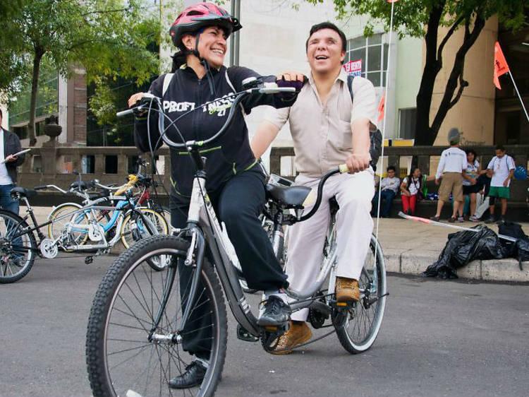Recorrido: Paseos en bici a ciegas
