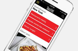New York iPhone app