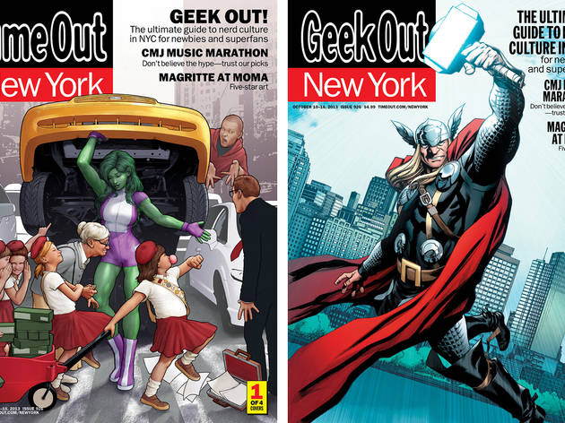 New York Comic Con covers: About the illustrators