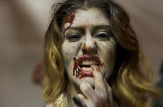 Zombie Fashion Show (Photograph: Joshua Thaisen)