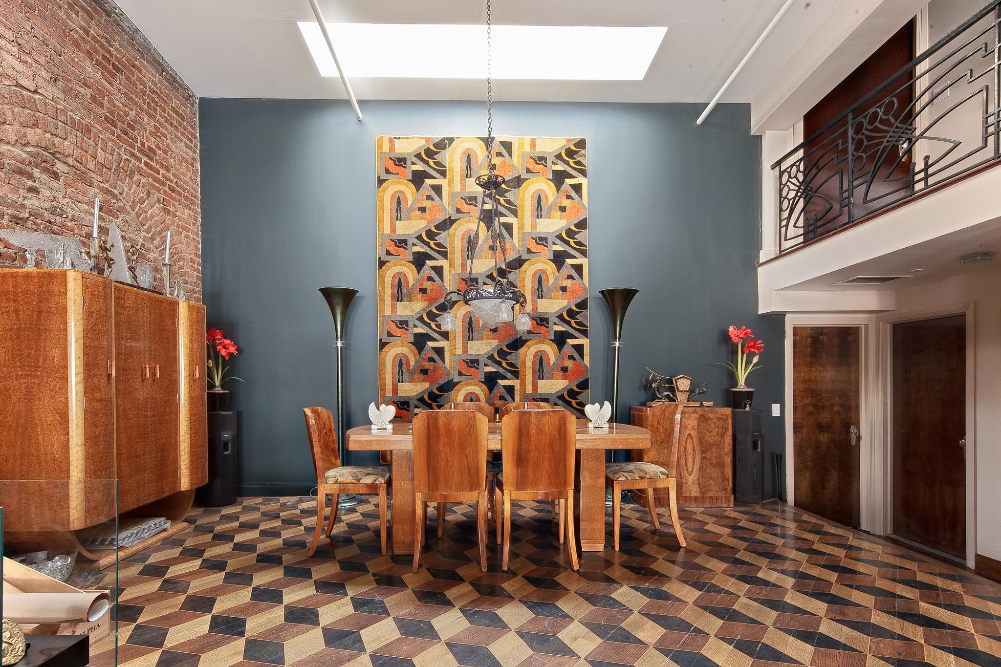 Art Deco Duane Street Residence