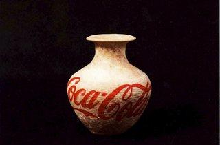 Ai Weiwei  ('Neolithic vases' )