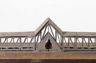 Siah Armajani ('Bridge Over a Tree', 1970)