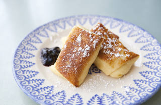 Cheese blintzes from Barney Greengrass