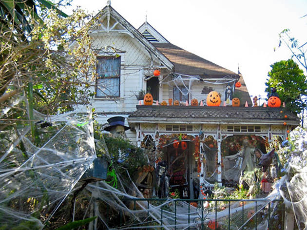 Halloween in Angelino Heights.
