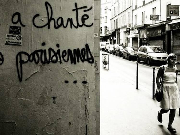 Paris dans la rue