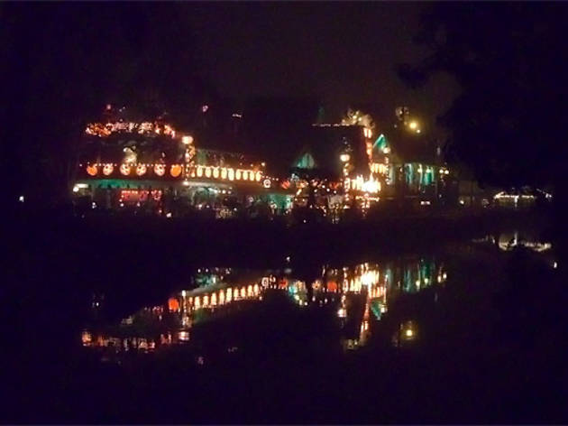 Venice Canals at Halloween.