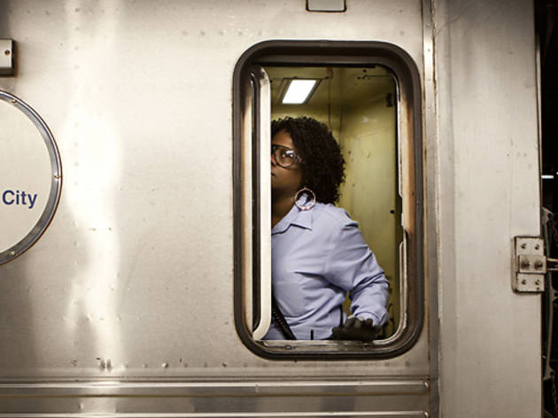 Photo of the day: A candid portrait of a subway conductor