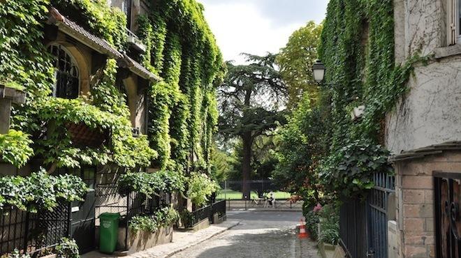 Terrasses cach es et secr tes paris for Appartement paris 17 terrasse