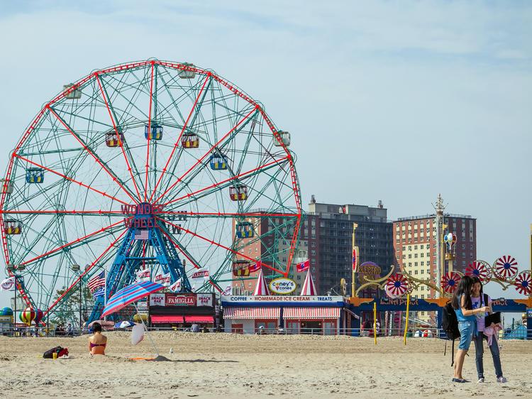 Retomber en enfance à Coney Island