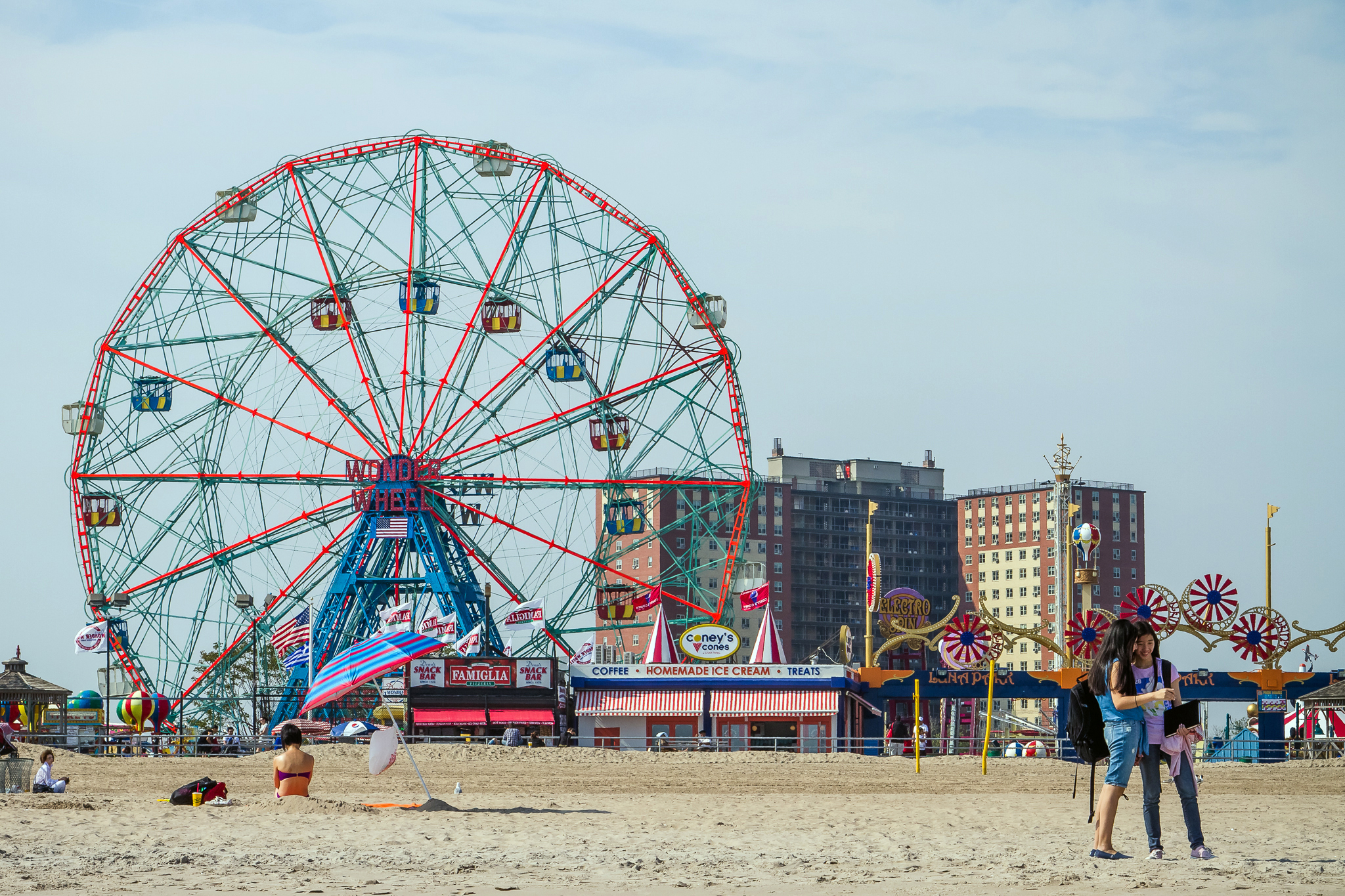 Smorgasburg spreads to Coney Island with shipping-container food vendors