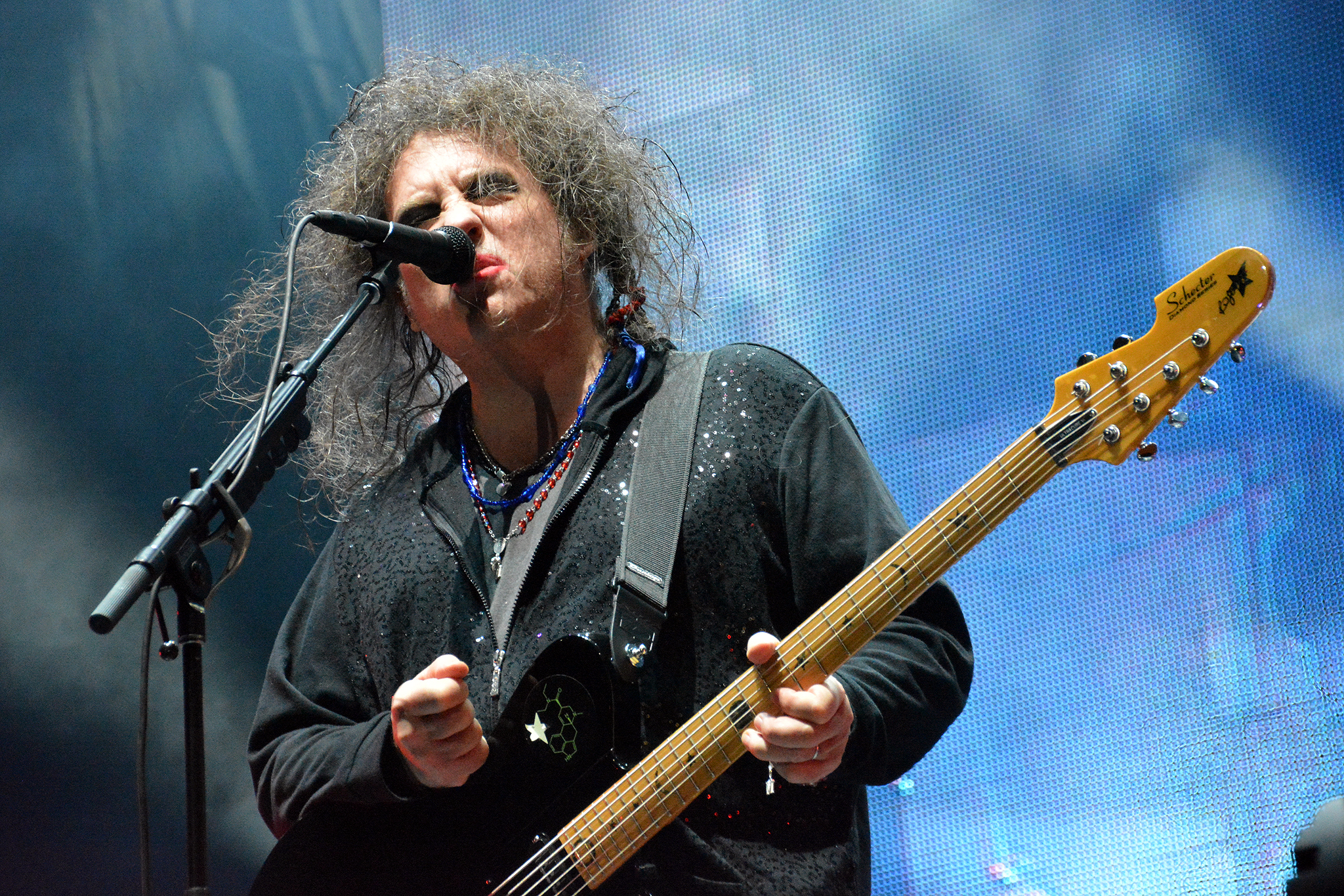 The Cure performs at the 2013 Austin City Limits Music Festival on October 5, 2013.