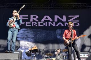 Franz Ferdinand + Frankie Rose