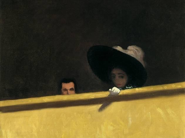 ('La Loge de Théâtre, le monsieur et la dame', 1909 © Collection particulière)