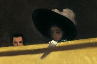 ('La Loge de Théâtre, le monsieur et la dame', 1909, détail © Collection particulière)