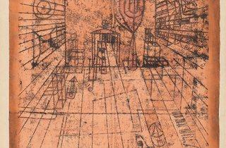 Paul Klee ('Room Perspective with Inhabitants' (1921))