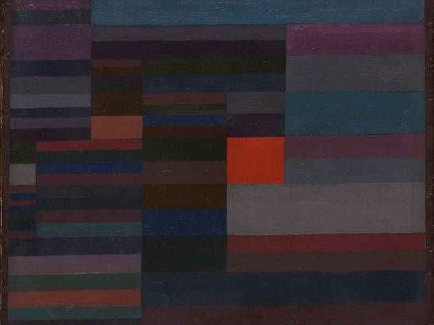 Paul Klee ('Fire in the Evening' (1929))