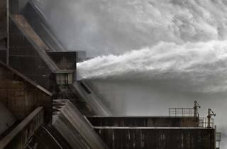 Edward Burtynsky, 'Xiaolangdi Dam #1 Yellow River, Henan Province, China'