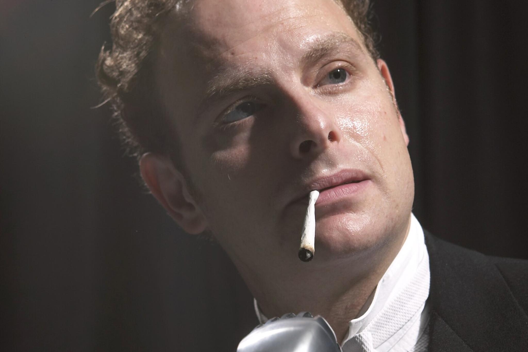 The performer: Jake Broder in <em>His Royal Hipness Lord Buckley</em>