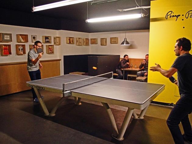 Faire un ping-pong au Gossima