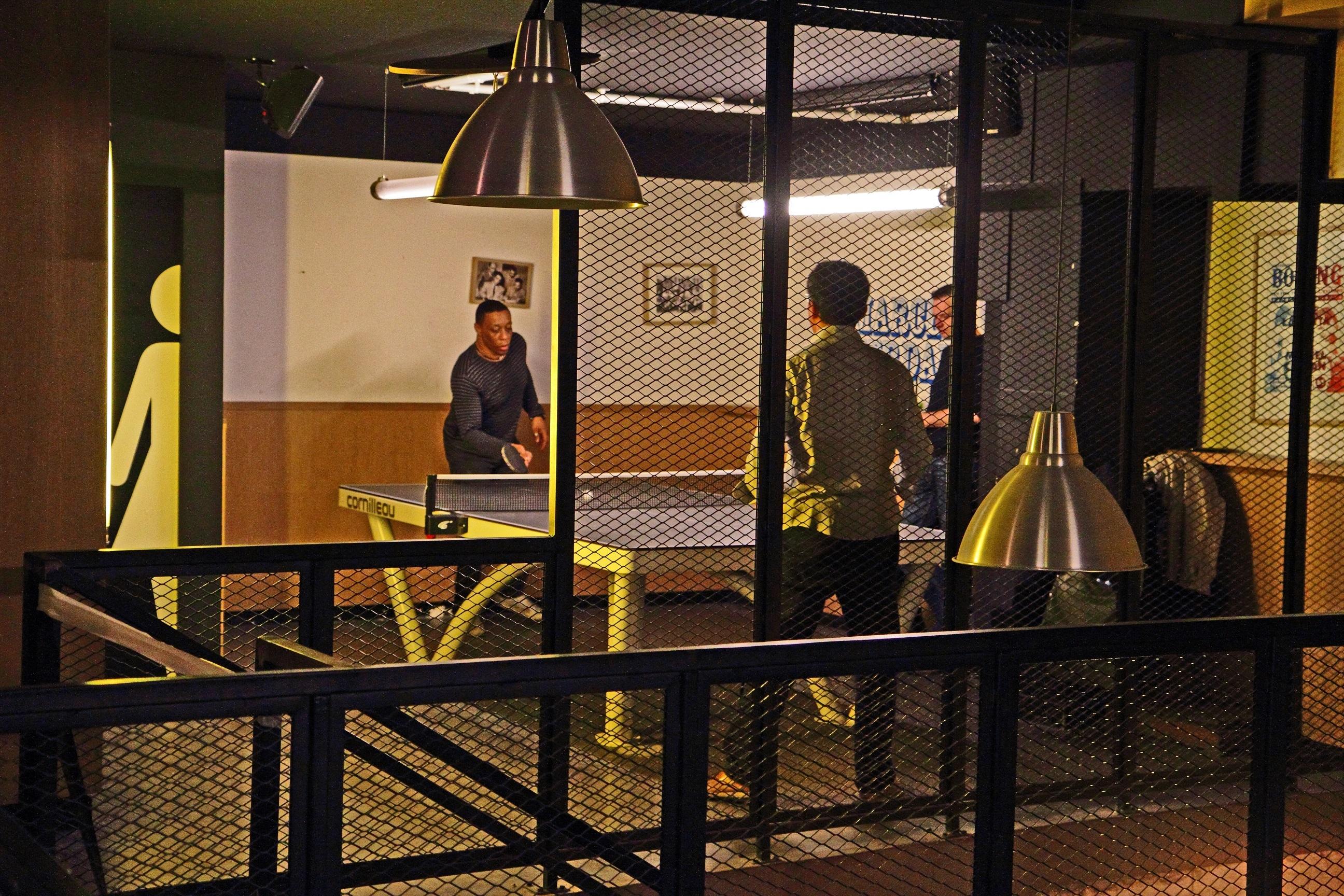 Meilleur bar concept : Le Gossima Ping-pong bar