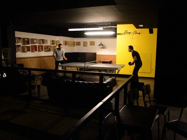 Le premier ping-pong bar de Paris