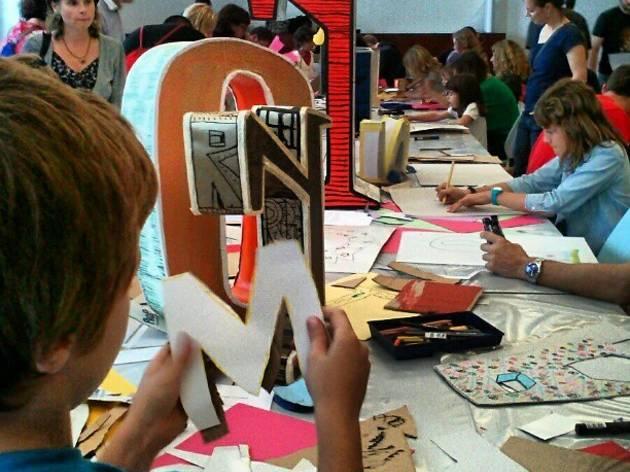 Big Draw 2013: La festa del dibuix
