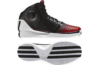 Adidas high-top basketball shoes, $60